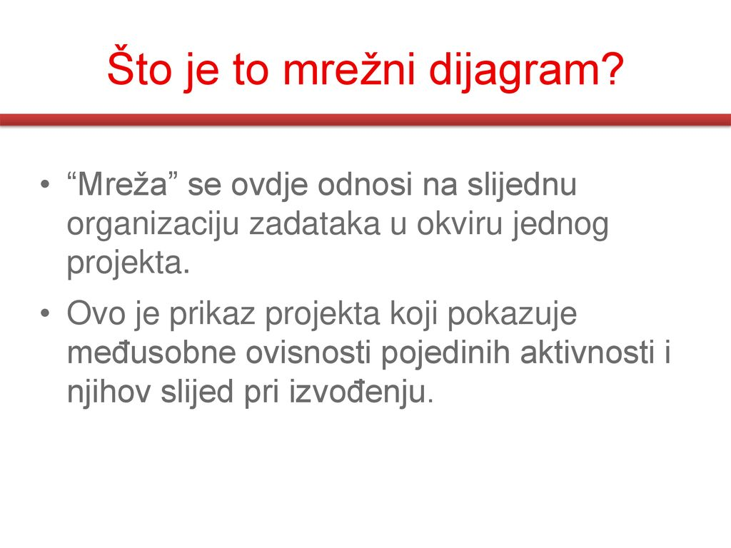 Što je to mrežni dijagram
