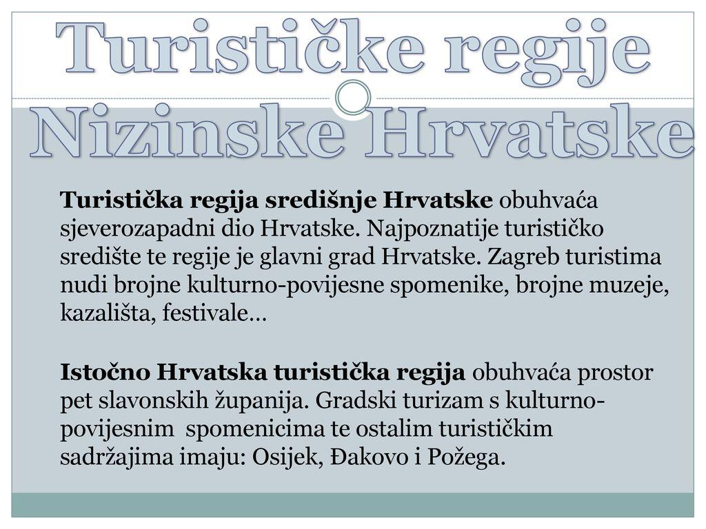 Turizam Nizinske Hrvatske Ppt Prenesi